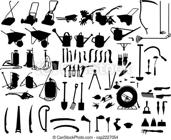 Instrumentos de jardín - csp2227054