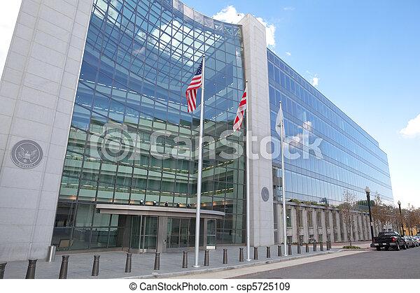 Intercambio de seguros Comisión de Valores de Washington DC - csp5725109