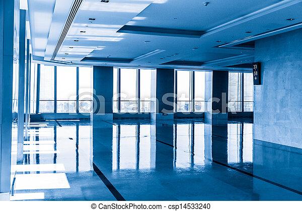 Interior de oficinas modernas - csp14533240