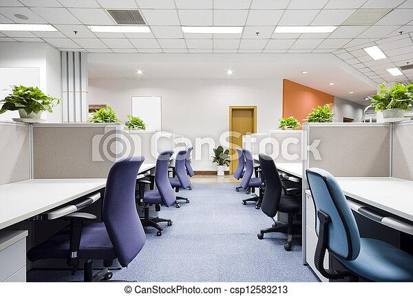 Interior de oficina moderna - csp12583213
