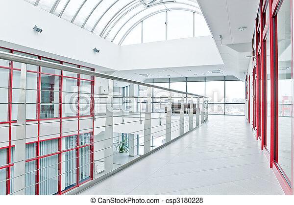 Interior de oficina moderna - csp3180228