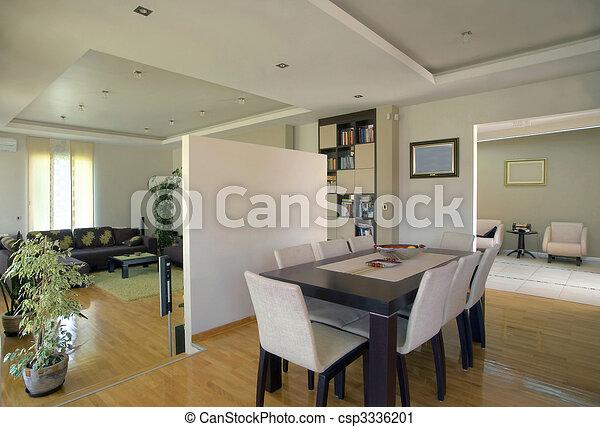 Interior moderno - csp3336201