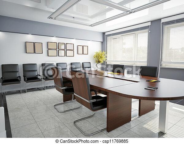 Interior de oficina - csp11769885