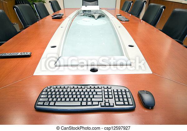 La sala interior de la oficina moderna - csp12597927