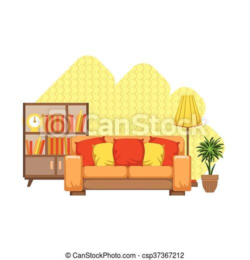 Diseño de interiores - csp37367212