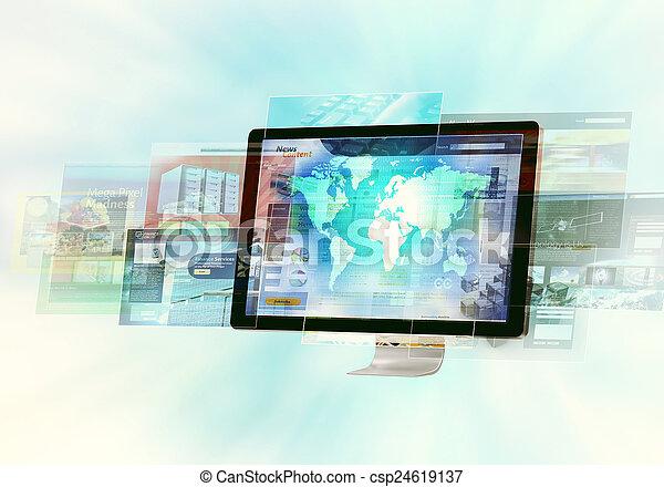 El concepto de Internet - csp24619137