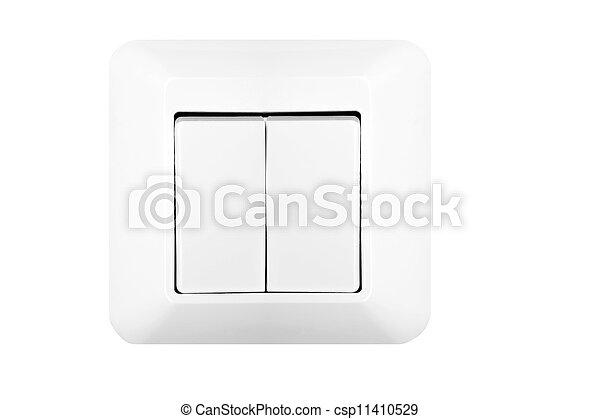 Doble interruptor de luz - csp11410529