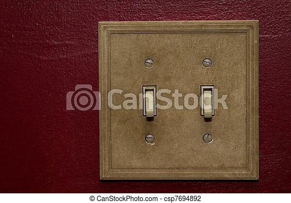 Doble interruptor - csp7694892