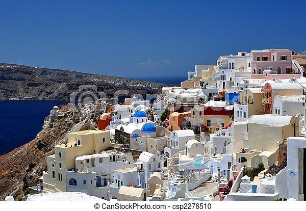 Isla Santorini - csp2276510