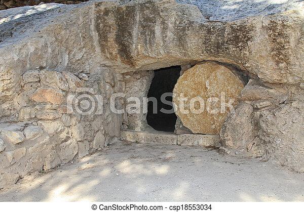 Replica de la tumba de Jesús en Isr - csp18553034
