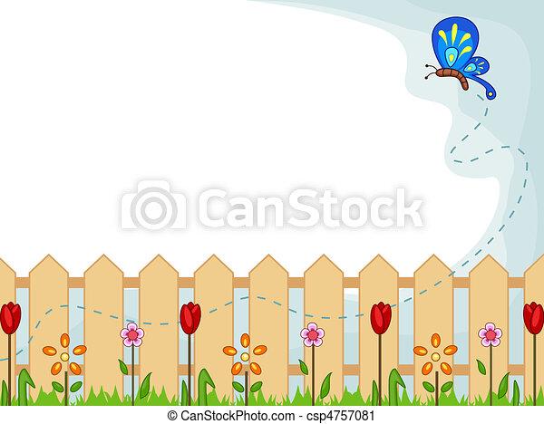 Edificio de jardín - csp4757081