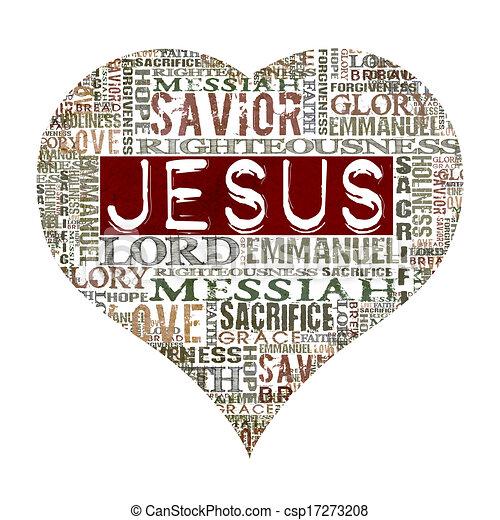 Amo a Jesús - csp17273208