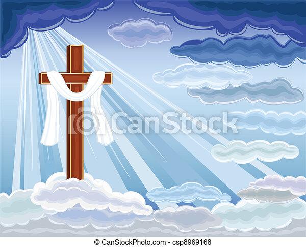 Resurrección de Jesús - csp8969168