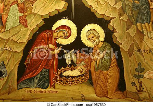 Mary Joseph Jesús - csp1967630