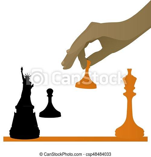 El concepto de un juego político - csp48484033