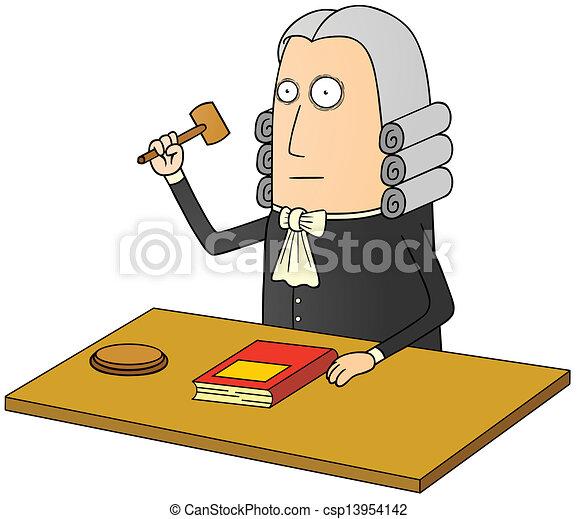 Juez - csp13954142
