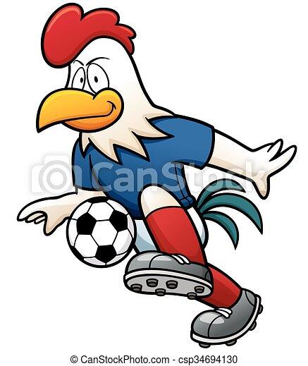 Jugador de fútbol - csp34694130