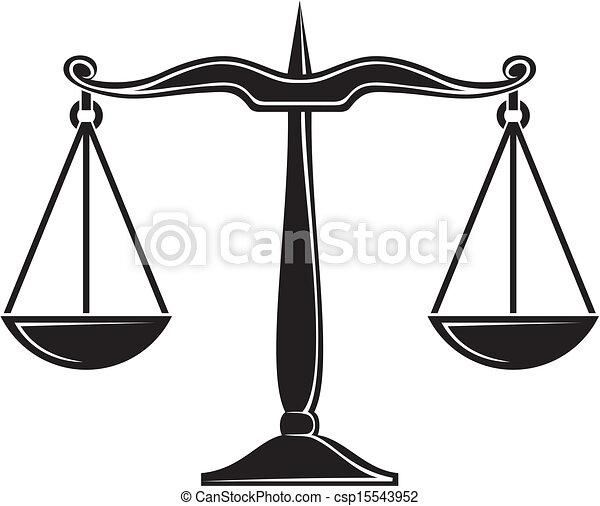 Escamas de justicia - csp15543952