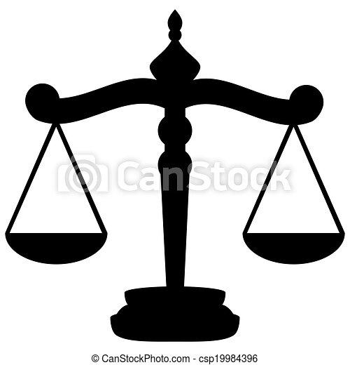 Escamas de justicia - csp19984396