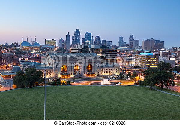 Kansas City. - csp10210026