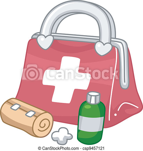 Kit de primeros auxilios - csp9457121