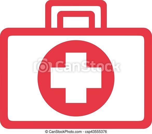Kit de primeros auxilios - csp43555376