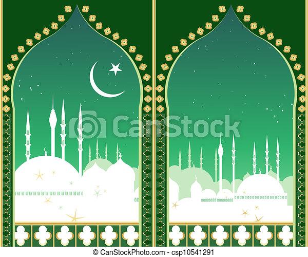 Línea del Islam - csp10541291