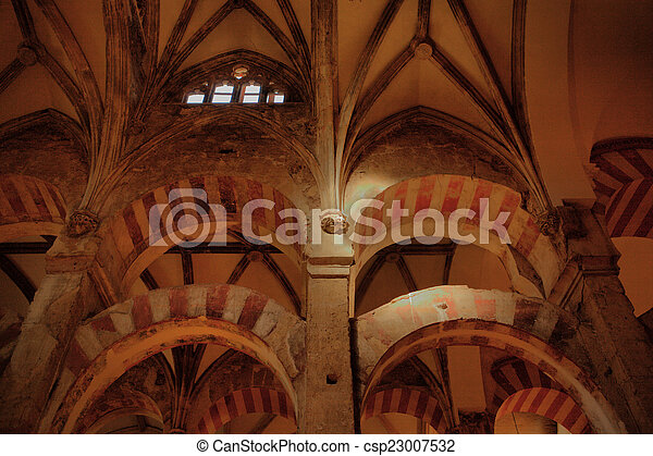 La bóveda de la mezquita de Córdoba - csp23007532