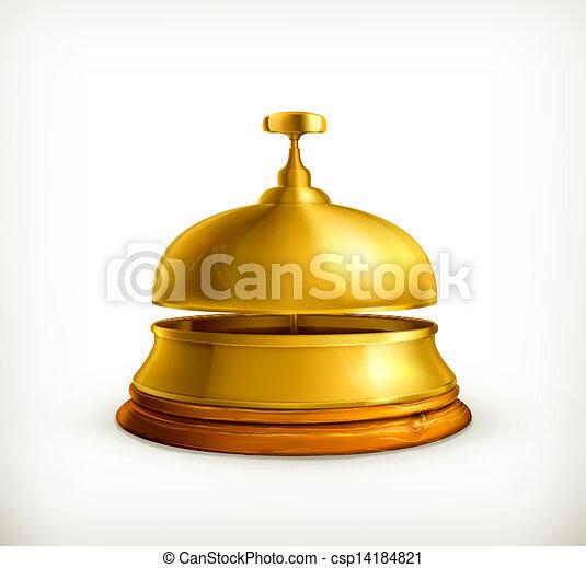 La campana de recepción - csp14184821