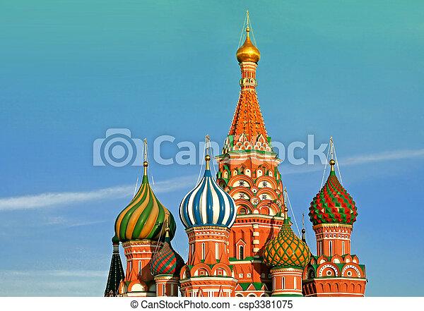 La catedral de St. Rusia. - csp3381075