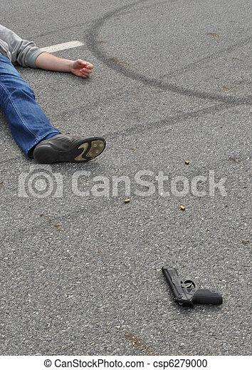 La escena del crimen - csp6279000