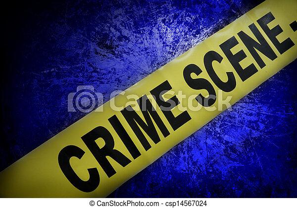 La escena del crimen - csp14567024