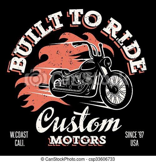 La huella de la camiseta 032 - csp33606733