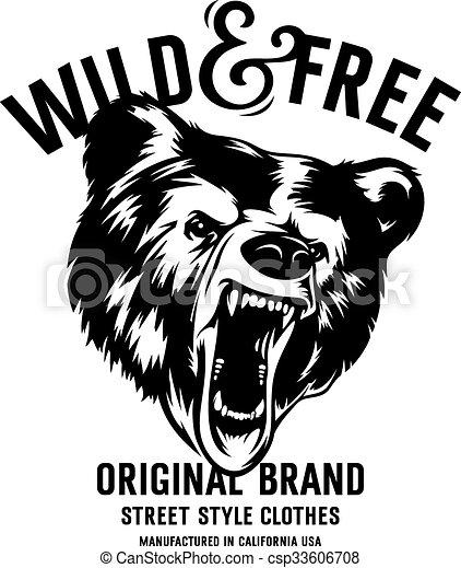 La huella de la camiseta - csp33606708