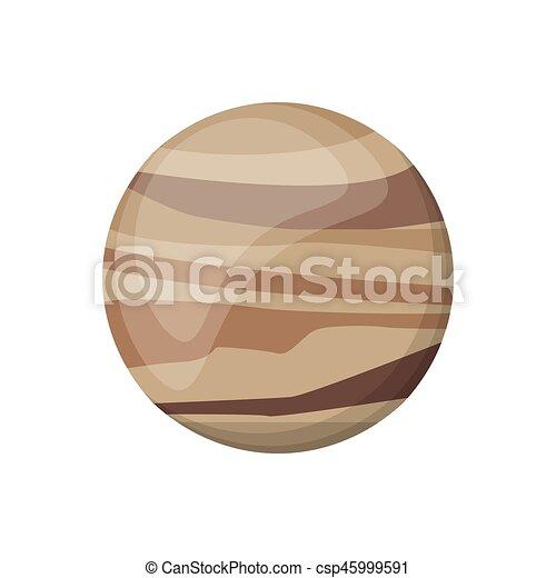 La imagen espacial de Venus - csp45999591