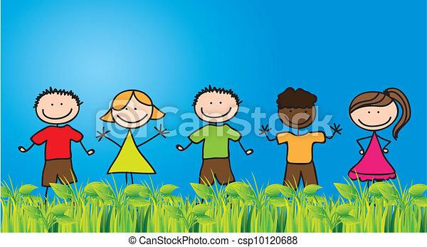 La infancia - csp10120688