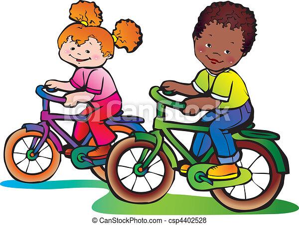 La infancia. - csp4402528