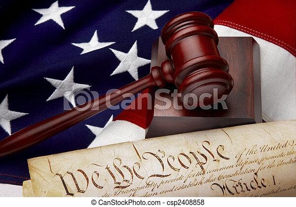 La justicia americana sigue viva - csp2408858