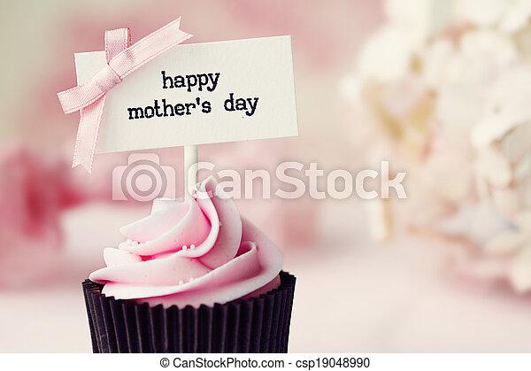 La magdalena del día de la madre - csp19048990