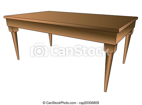 La mesa de la cocina - csp20306809