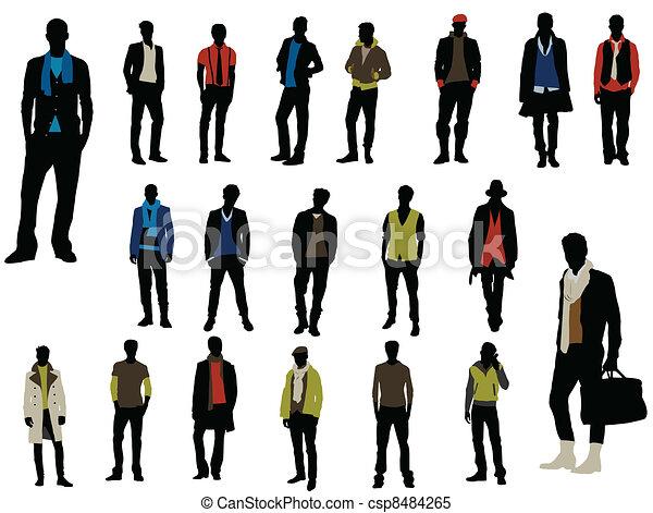 La moda masculina - csp8484265