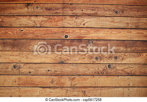 La pared de madera - csp5617258
