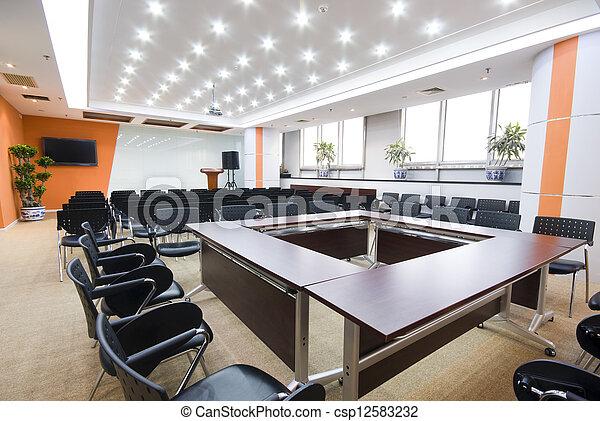 La sala interior de la oficina moderna - csp12583232