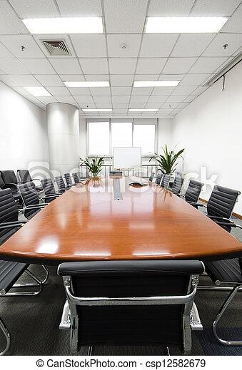 La sala interior de la oficina moderna - csp12582679