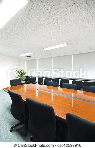 La sala interior de la oficina moderna - csp12597916