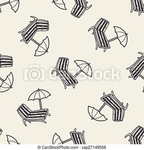 La silla Doodle Lounge - csp27149556