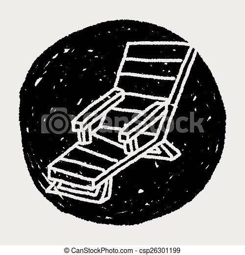 La silla Doodle Lounge - csp26301199
