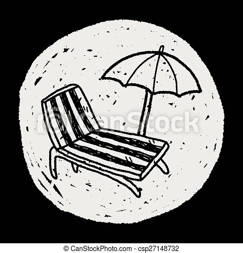 La silla Doodle Lounge - csp27148732