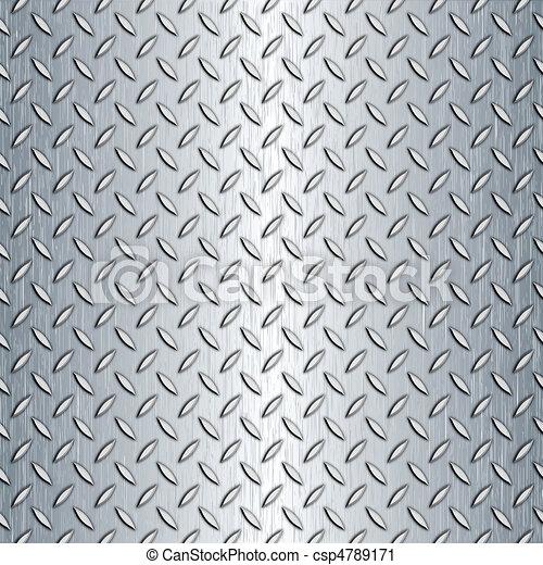 La textura de la placa de diamantes sin nada - csp4789171