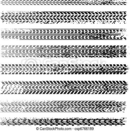 La textura de las ruedas - csp6766189